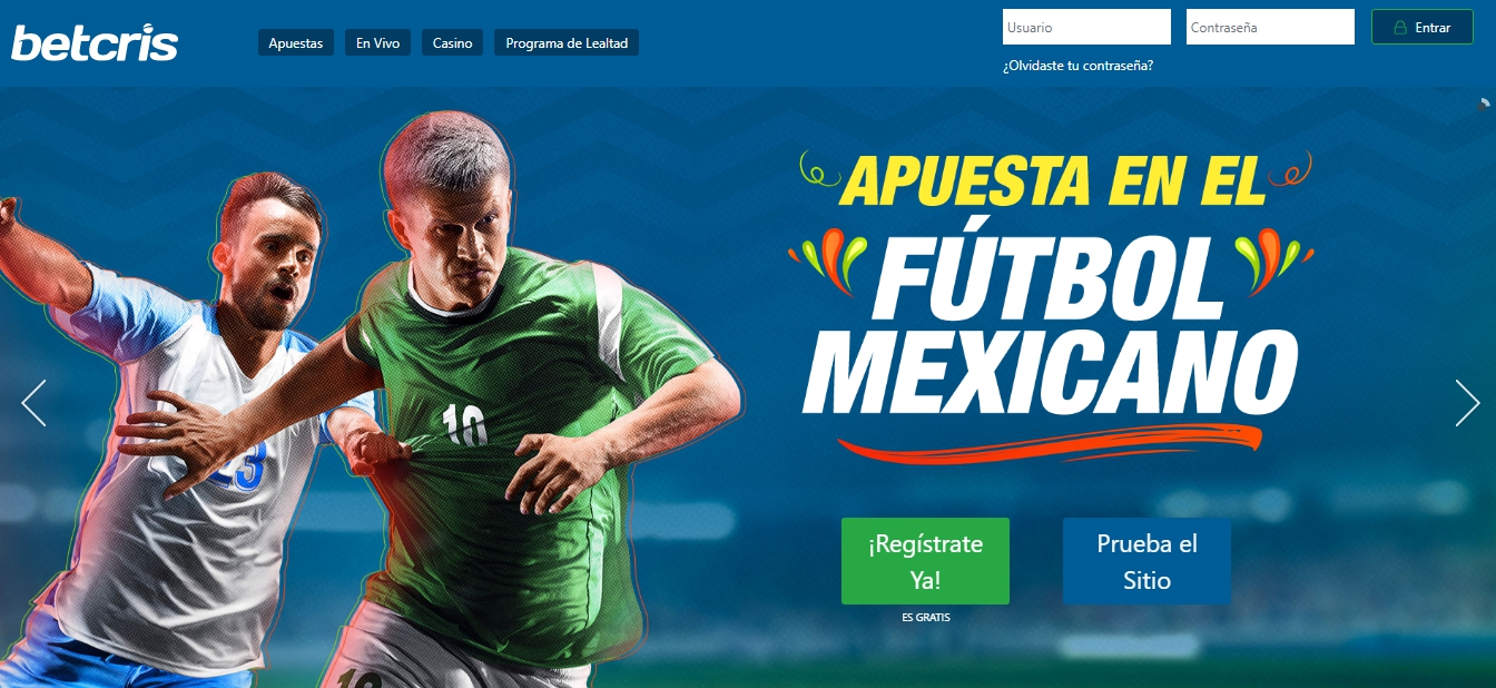 Betcris ingresar a cuenta en México