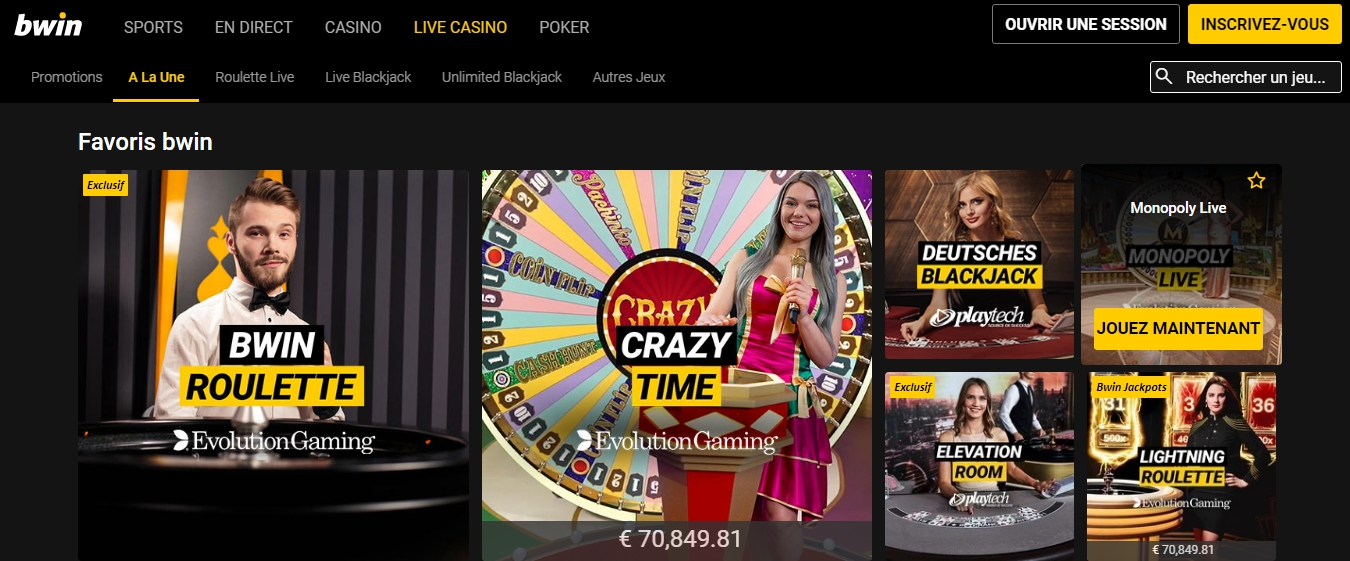Bwin Mexico juegos de casino